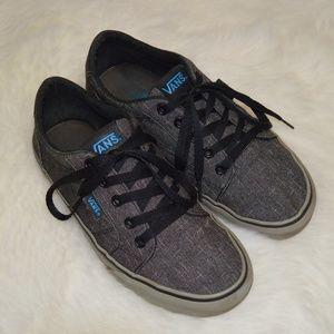VANS Grey Blue size Men's 7 skate shoes